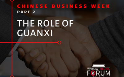 The role of guanxi