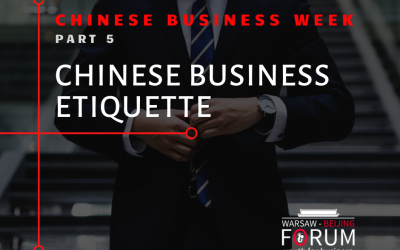 Chinese business etiquette in a nutshell